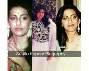 Wife of Anil Kapoor-Sunita kapoor biography-Age-Images-Love story