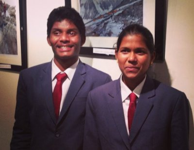 Malavath Poorna and Anand