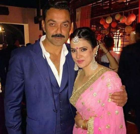 Bobby Deol Wife Tanya Deol Biography Age Family Sons Images