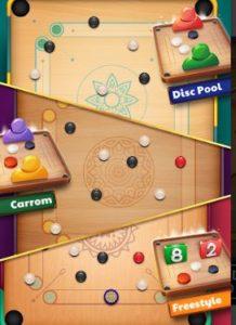 carrom game modes classic