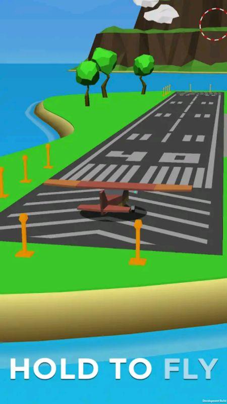 Crash landing 3D mod apk