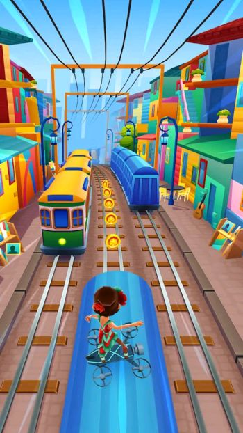 Subway Surfers Game download In Jio Phone (2)