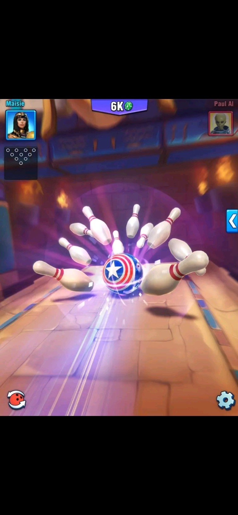 latest bowling game