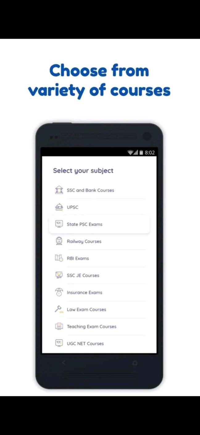 prepare exams app