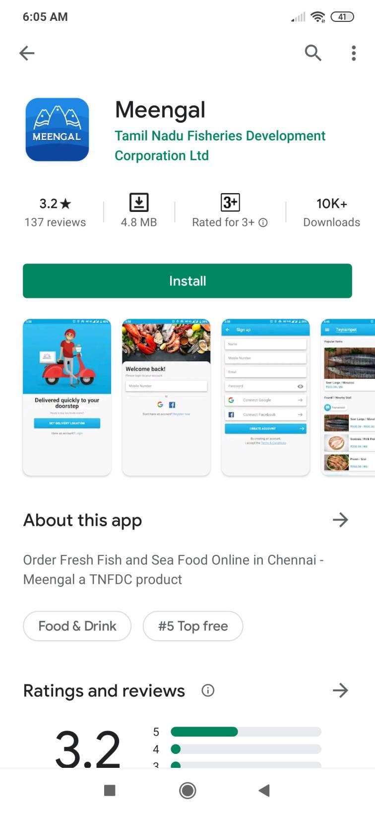 tamil nadu sea food online