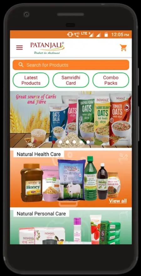 Order me Patanjali App Download