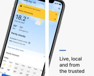BOM weather app australia