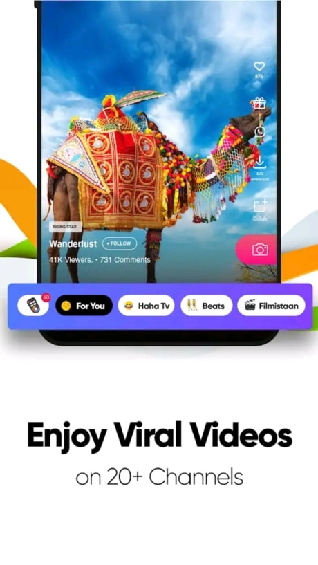 Roposo app which country