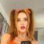 bella thorne leaked orange bikini photos