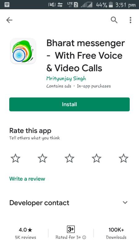 bharat messenger app download