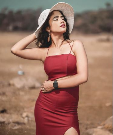 Tik-Tok star Nisha Guragain  IMAGES, GIF, ANIMATED GIF, WALLPAPER, STICKER FOR WHATSAPP & FACEBOOK