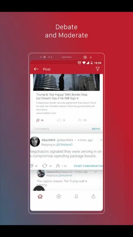 parler social media app download