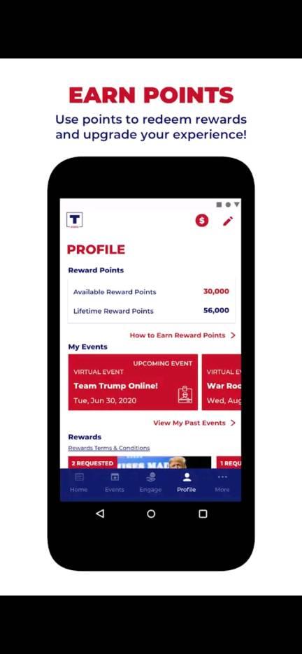 usa president army app email