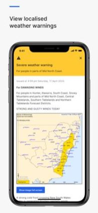weather warning australia