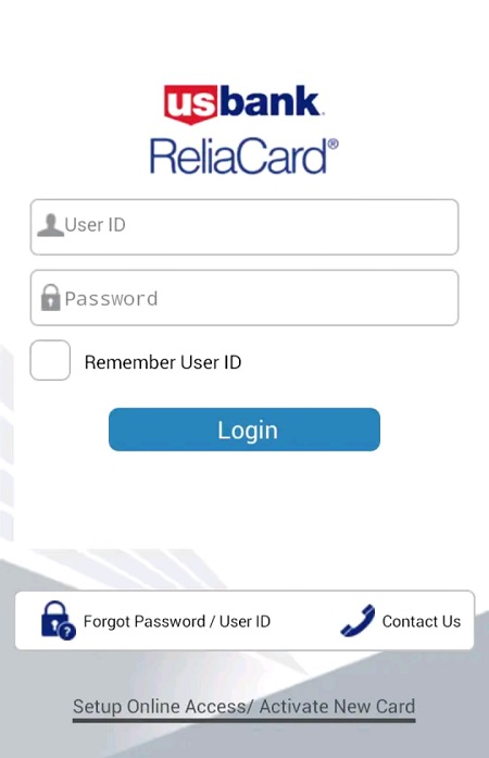 app for us bank reliacard