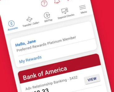 edd bank of america app