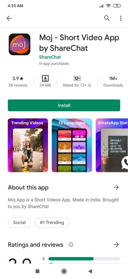 moj app by sharechat