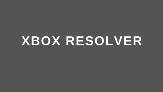 xbox resolver website