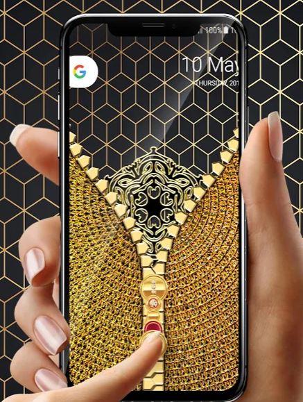 golden zip lock app