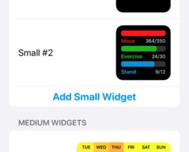 how to do widgetsmith app