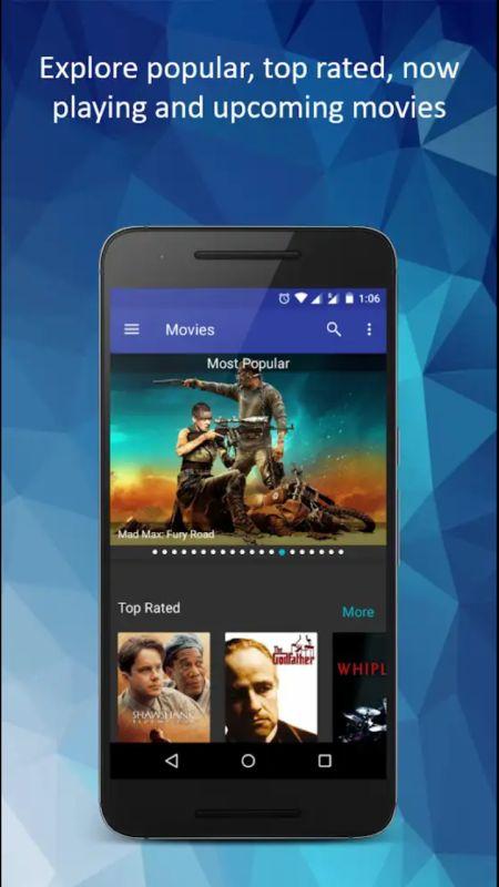 movie reviews app