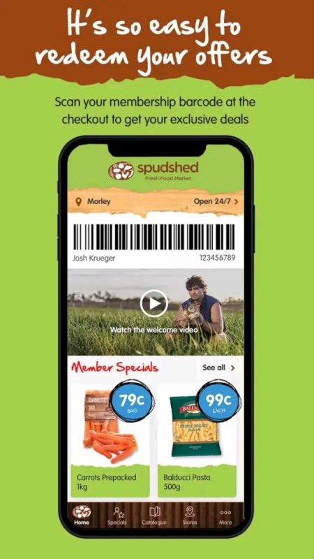 spudshed app download link